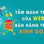 Tầm quan trọng của Website bán hàng trong kinh doanh