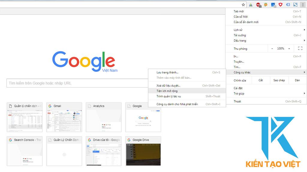 Cài đặt seo quake trên google chrome